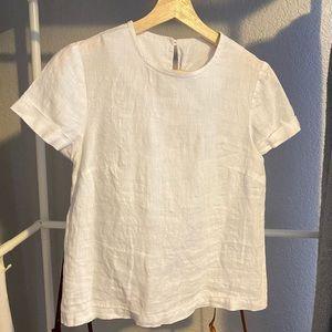 Handmade Linen T Shirt